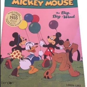 😁 4 / $20 Disney Mickey Mouse Vintage Collection Book (NEW) - BKN2